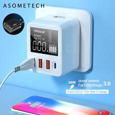 usbchargingstation, multiple, usb, charger
