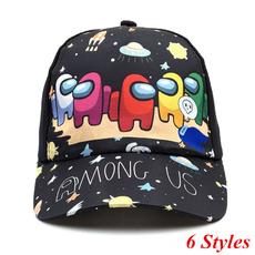 Baseball Hat, Fashion, Cotton, Cartoons