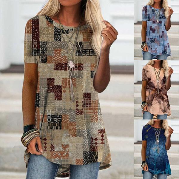 blouse, Plus Size, tunic, Sleeve
