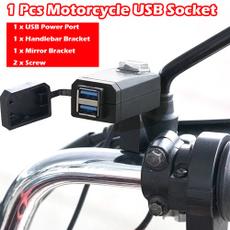 motorcycleaccessorie, motorcycleusbsocket, usb, Waterproof