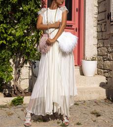 gowns, Fashion, chiffon, sundress