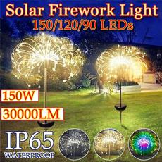 dandelionlamp, Outdoor, fireworklight, Garden
