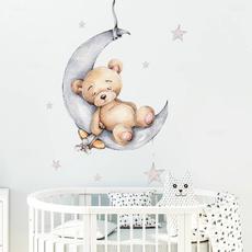 stickerbear, Teddy, walldecoration, Stickers