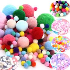 assortedcoloredpompom, pompom, Craft, coloredpompon