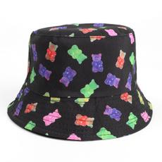 cute, Cap, unisex, fishermancap