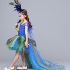 peacock, girls dress, Toddler, girlstutudresse