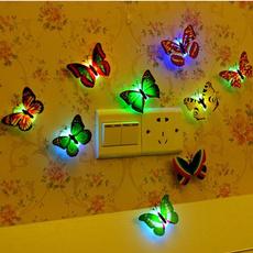 butterfly, Decor, Night Light, Home Decor