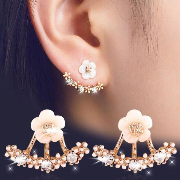 trending, women's earrings, Jewelry, Crystal