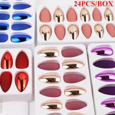 nail tips, Shiny, frenchnail, Beauty