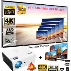 projetor4k, Mini, officeprojector, led