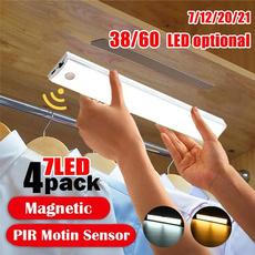 pirmotionsensor, lightbar, led, Closet
