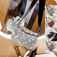 DIAMOND, women purse, party bags, Shiny