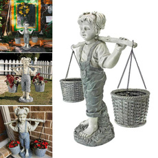 gardenstatue, hogar, Outdoor, ornamentsstatue