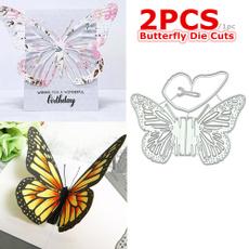 butterfly, stencil, Scrapbooking, cuttingdie