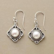 Sterling, Fashion, Pearl Earrings, Jewellery