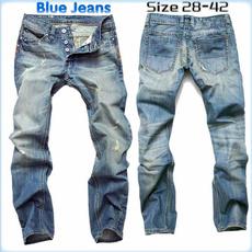 Blues, Plus Size, Fashion, holepant