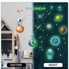 Star, fluorescence, Space, lights