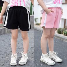 Splicing, Shorts, outerwearshort, Summer