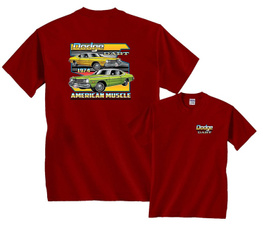 Dodge, Funny, Muscle, Cotton Shirt
