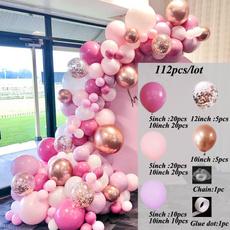 pink, balloongarlandmacaron, balloongarland, Jewelry