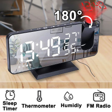 projectionalarmclock, Heavy, temperatureandhumidityclock, led
