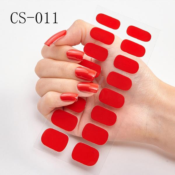 nail decoration, nail stickers, Fashion, Beauty