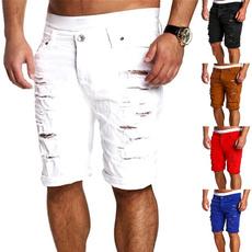 Summer, Fashion, pants, rippedjean