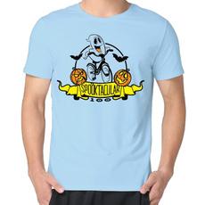 Funny, Shorts, Cotton Shirt, Necks