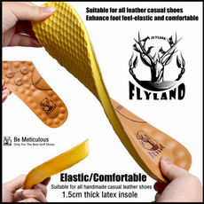 latex, acupressuremassageinsole, Insoles, casual leather shoes