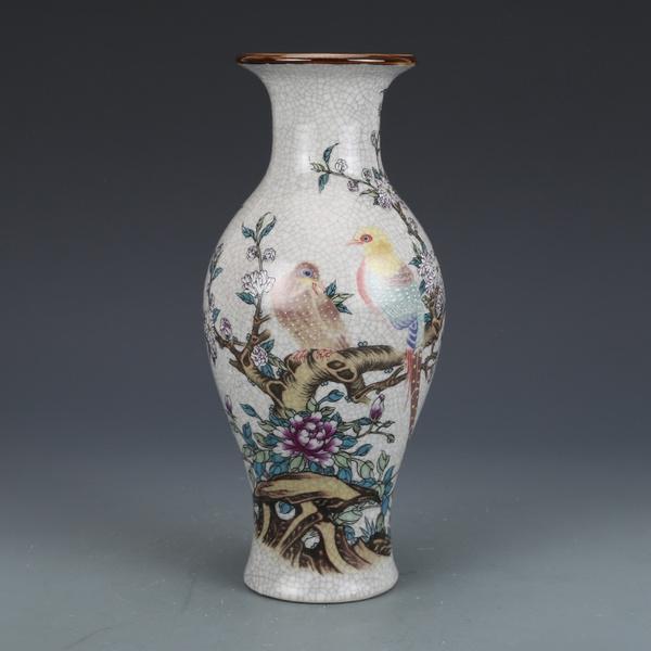 decoration, oldvase, Chinese, flowervase