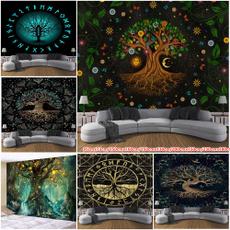 Fashion, Wall Art, Colorful, Tree