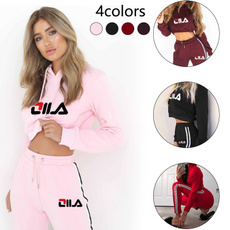 Plus Size, crop top, hoodies for women, Long Sleeve