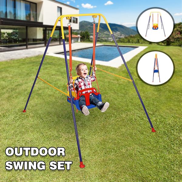 Outdoor, Yard, foldingswingchair, childrenstoddlerswing
