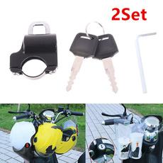 Helmet, Yamaha, Lock, Honda