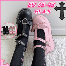 Kawaii, Goth, Plus Size, Platform Shoes