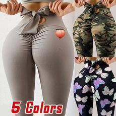 Camouflage Leggings, bowknot, Leggings, Fashion