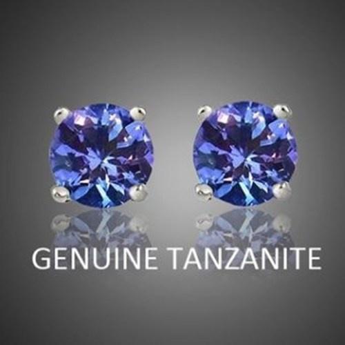 butterfly, Jewelry, tanzaniteearring, Stud Earring