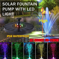 water, solarpoweredgadget, led, Garden