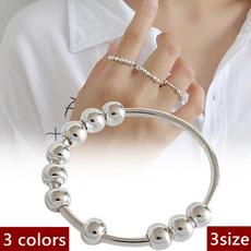 fidgetspinner, femalering, Joyería, Sterling Silver Ring