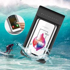 waterproof bag, beachphonecase, Surfing, waterproofphonecover