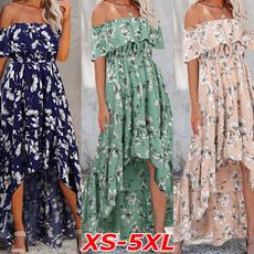 Summer, strapless, dressesforwomen, high waist