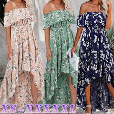 ladieslongskirt, Summer, fashion women, Plus Size