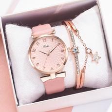 pink, dial, quartz, Casual Watches