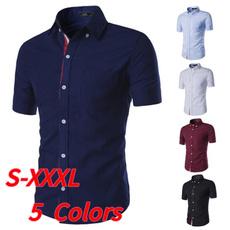 koreanslim, dress slim, Cotton Shirt, Dress Shirt