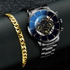 Luxury Watch, quartz, Stainless Steel, Watch