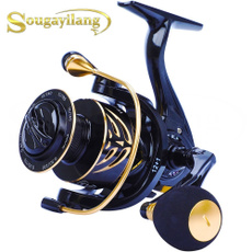 spinningreel, spinningfishingreel, Aluminum, lights