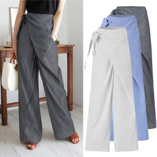 longtrouser, solidcolortrouser, high waist, Casual pants