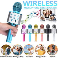 bluetoothmicrophone, Microphone, Wireless Speakers, ktv