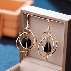 Jewelry, vintage earrings, metalhoopearring, women earrings