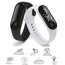 Touch Screen, led, Silicone, Bracelet